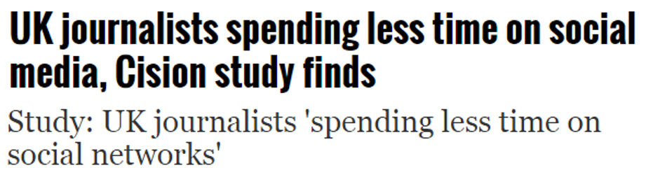 Social journalism headlines