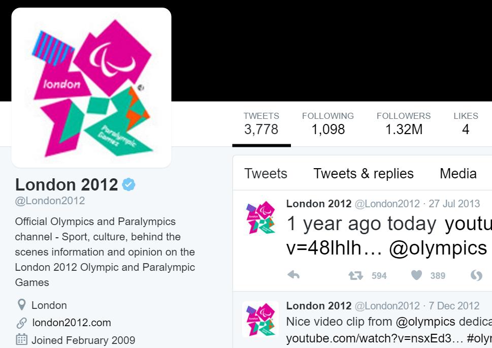 London 2012   London2012    Twitter